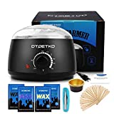 DTOETKD Waxing Kit Wax Warmer Hair Removal At Home for Women Face, Nose,Eyebrows,Full Body Legs,Bikini