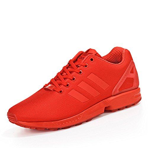 Adidas ZX Flux, Alpargatas para Hombre, Rojo (Red/Red/RedRed/Red/Red), 44 2/3 EU