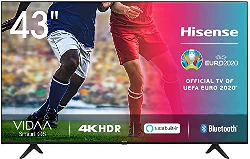 Hisense 43AE7000F UHD TV 2020 - Smart TV Resolución 4K con Alexa...