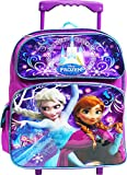 Disney Frozen Elsa and Anna 12' Toddler Rolling Backpack