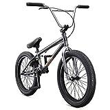 Mongoose Legion L60 Freestyle BMX Bike Line for Beginner-Level to Advanced Riders, Steel Frame, 20-Inch Wheels, Grey