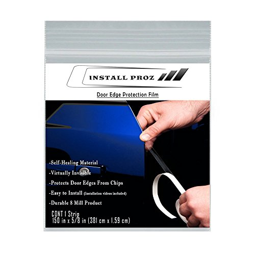 Install Proz Self-Healing Clear Paint Protection Film Kits (Door Edge Protection Film 150' x 5/8')