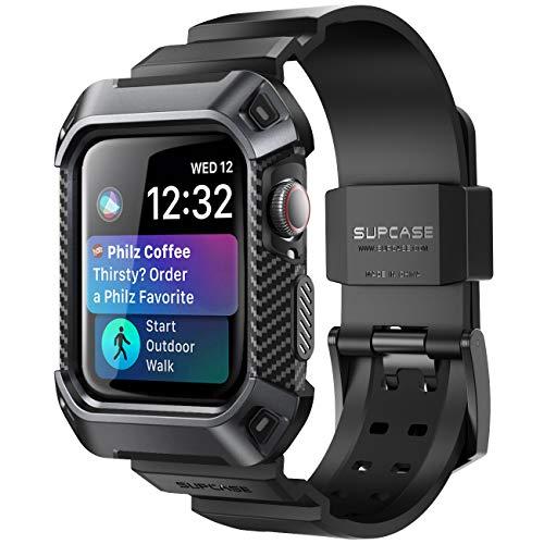 SUPCASE Apple Watch Series 4 保護ケース バンド 44mm 衝撃吸収 アップルウォッチ シリーズ 4 対応 カバー...