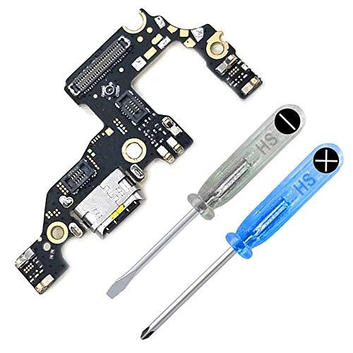 MMOBIEL Dock Connector Ladebuchse Lade Port kompatibel mit Huawei P10 Plus Flexkabel inkl. Schraubenzieher