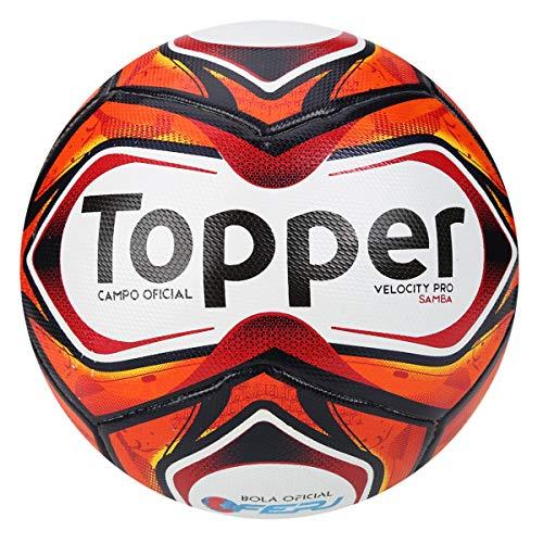 Bola de Futebol de Campo Velocity Pro Samba 2018 - Topper