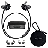 Bose SoundSport Wireless in-Ear Headphones - Black & Charging Case - Bundle