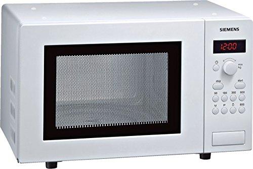 Siemens HF15M241 iQ300 Mikrowelle / 17 L / 800 W / Weiß / cookControl 7 Automatikprogramme