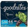 Goodnites Bedwetting Underwear for Boys, Small/Medium, 44 Ct