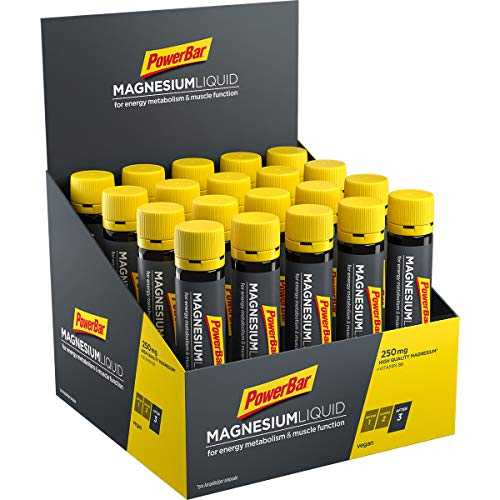PowerBar Magnesium Liquid Ampullen 20x25ml - Supplement Ampoules