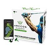 Arccos Caddie Smart Sensors Featuring Golf's First-Ever A.I. Powered GPS Rangefinder (2nd Generation)