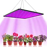 Lmpara LED hortcola de crecimiento floral, 1000 W para cultivo interior, planta, lmpara de crecimiento hidropnico, iluminacin de germinacin con gancho (B)