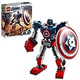 LEGO 76168 MarvelSuperHeroes L'ArmureRobotdeCaptainAmerica Jeu...