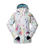 HOTIAN Womens Ski Snow Jacket Waterproof Snowboard Jackets Insulated Winter Coat