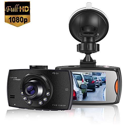 MASOMRUN【2020 Nuova Versione】 Telecamera per Auto 1080P Dashcam Auto FULL HD Schermo da 3 Pollici Angolo di Ripresa da 170°, Dash Cam Auto con Registrazione in Continuo, Monitor di Parcheggio