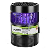 HAUSBELL Mosquito Killer Lamp, Electric Bug Zapper, Mosquito Trap, Bug Control Inhaler, Pests Gnat Trap, UV LED Insect Fly Zapper, USB Powered