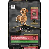 One (1) 16 lb. Bag - Purina Pro Plan Sensitive Skin and Sensitive Stomach Small Breed Dog Food, Salmon & Rice Formula Formulated high in protein to meet the needs of highly active small dogs High protein formula, with real salmon as the first ingredi...