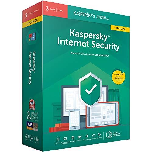 Kaspersky Internet Security 2019 Upgrade | 3 Geräte | 1 Jahr | Windows/Mac/Android | Box | Download