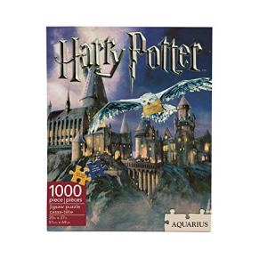 MyPartyShirt Asistente Jigsaw Castillo de Hogwarts de Harry Potter Puzzle de 1000 Piezas Casa Logo