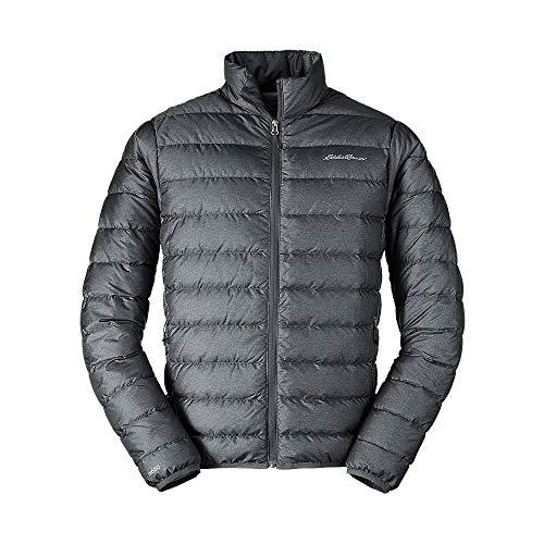 Eddie Bauer Men's CirrusLite Down Jacket, Dk Smoke HTR Regular M