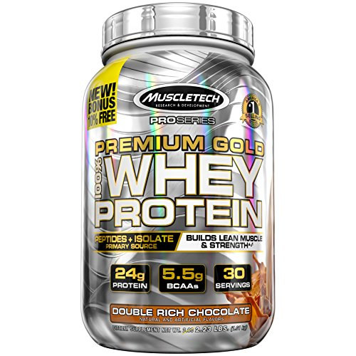 Protein Powder | MuscleTech Premium Gold 100% Whey Protein Powder...