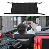 RT-TCZ New Style Black Car Roof hammock Car Bed rest For Jeep Wrangler 1987-2018