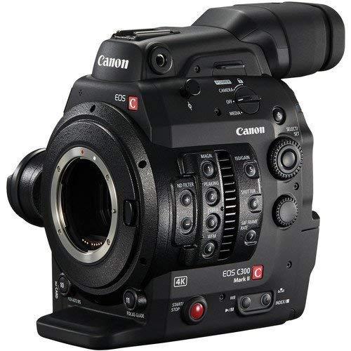 Canon C300 Mark II Cinema EOS Camcorder Body with Dual Pixel CMOS AF (EF Lens Mount)