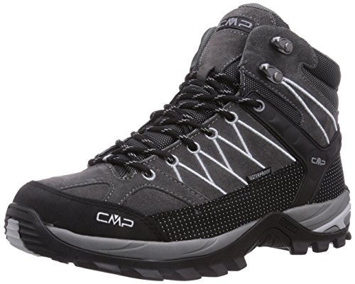 CMP Rigel Mid WP Herren Trekking- & Wanderstiefel, Grau (Grey U862), 43 EU