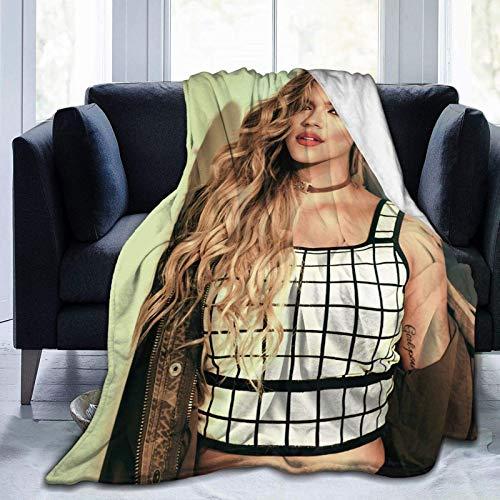 Coperta trapunta Karol G Coperta invernale ultra morbida Coperte leggere alla moda Divano letto per la casa 80 'x60'