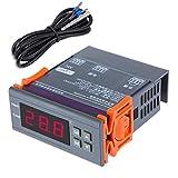 KKmoon Thermostat, 200-240V Numérique Contrôleur de température...