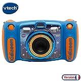VTech – Kidizoom Duo 5.0 – Bleu – Appareil Photo Enfant – Appareil...