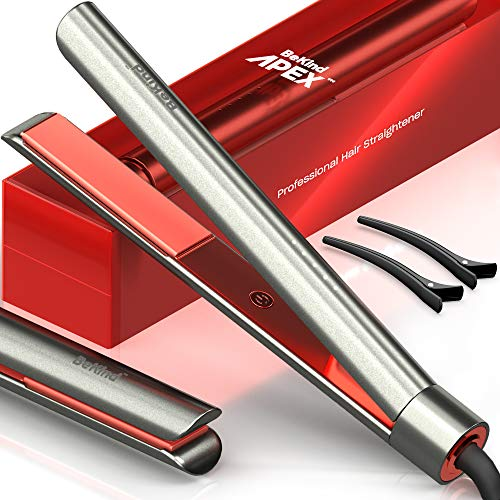 Bekind Apex 2-in-1 Hair Straightener Flat Iron,...