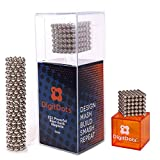 BrainSpark DigitDots 222 Pieces 5 Millimeter Magnetic Balls The Original Fidget Toys for Adults Rare Earth Magnets Executive Desk Toys Desk Games Magnet Toys Magnetic Balls Stress Relief Toys