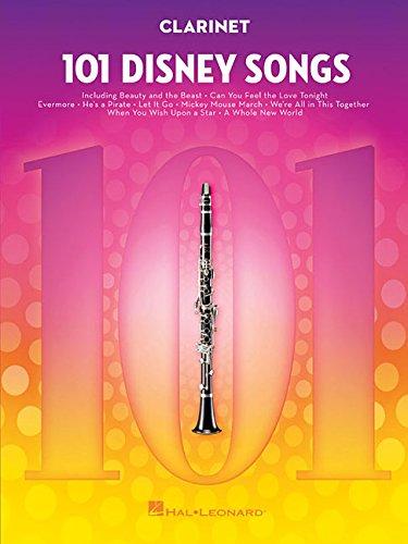 101 Disney Songs -For Clarinet-: Noten, Sammelband für Klarinette