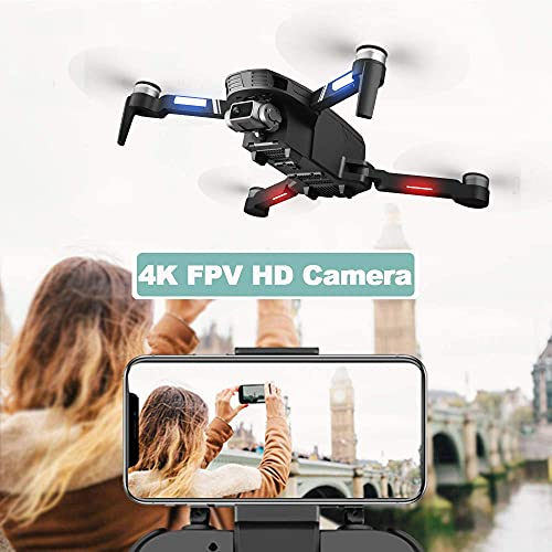 Product Image 8: 4DRC F4 GPS Drone with 4K HD Camera,2-Axis gimbal Anti-shake Camera, RC quadcopter for Adults, 5G FPV Live Video,GPS Return Home,,Brushless Motor,Follow Me, 60 Minutes Flight Time, Carrying Case