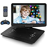 Jekero 17.9' Portable DVD Player with 15.6' HD Swivel Screen, PersonalDVDPlayer with 5 Hrs...