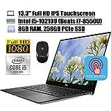 2020 Newest Dell XPS 13 7390 Laptop Computer 13.3' FHD IPS Touchscreen Intel Quad-Core i5-10210U...