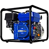 DuroMax XP652WP 7-HP 158-Gpm 3600-Rpm 2-Inch Gasoline Engine Portable Water Pump, 50 State Approved, XP652WP, Blue