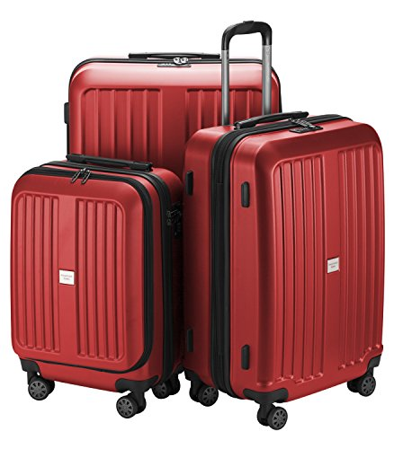 HAUPTSTADTKOFFER X-Berg - Set di 3 valigie - Bagaglio a mano, Trolley medio, Valigia grande ABS, TSA...