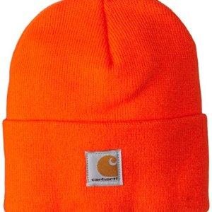 Carhartt Boys' And Girls' Acrylic Watch Hat, Brite Orange, Youth