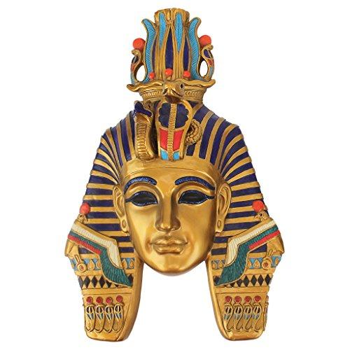 Escultura para pared de máscara egipcia