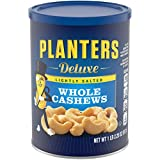 PLANTERS Deluxe Lightly Salted Whole Cashews, 1 lb 2.25 Oz (18.25 oz)...