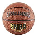 Spalding NBA Street Outdoor Basketball, Size 6 - Intermediate (28.5'), Orange