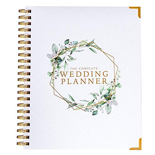 Wedding Planner & Organizer - Floral Gold Edition - Diary...