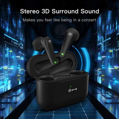 Wireless-Earbuds-with-Mic-Bluetooth-50-Wireless-Headphones-IPX7-Waterproof-Auto-Pair-Touch-Control-Wireless-Earphones-USB-C-Charging-Input-in-Ear-Earbuds-with-Charging-Case-Black