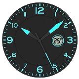 FISHTEC Horloge Noir/Bleu * avec Température