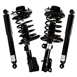 AutoShack CSS022-292PR Set of 4 Front Complete Strut Coil Spring Assembly and Rear Shock Absorbers Replacement for 2001-2007 Chrysler Town & Country 2001-2003 Voyager 2001-2007 Dodge Caravan 3.8L FWD