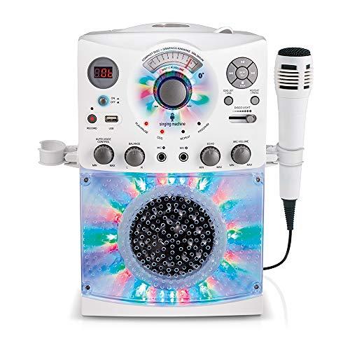 Singing Machine Karaoke Machine, White