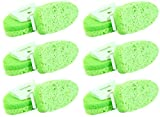 6-Pack Dishwashing Cleaning Sponges Non-Scratch Libman Gentle-Touch Refills (Case-12 Pads) Scrubber