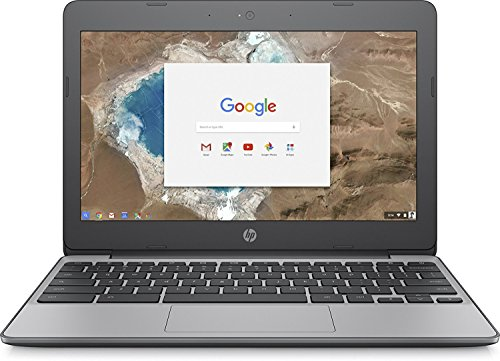 2018 HP 11.6 HD IPS Touchscreen Chromebook with 3x Faster WiFi - Intel Dual-Core Celeron N3060 up to 2.48 GHz, 4GB Memory, 16GB eMMC, HDMI, Bluetooth, USB 3.1, 12-Hours Battery Life (Renewed)