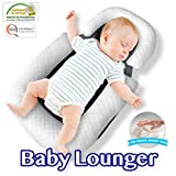 Comfyt Baby Lounger Portable Bassinet Baby Pillow Travel Crib Baby Pillow Baby Nest Co Sleeping Newborn Lounger Infant Bassinet Baby Pillow Newborn Nest Baby Sleep Baby Lounger
